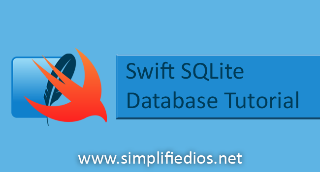 Swift SQLite Tutorial for Beginners - Using SQLite in iOS Application