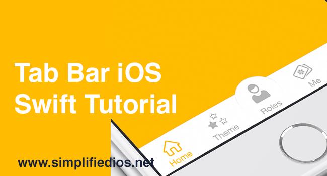 Tab Bar iOS Swift Tutorial - Working with Tab Bar in Xcode 9
